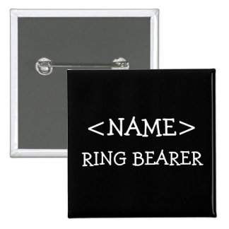 Ring Bearer Name Button