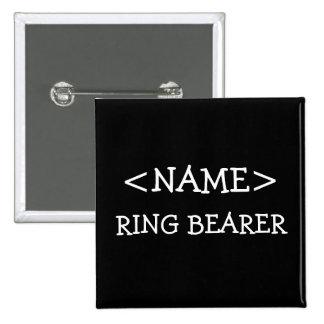 Ring Bearer Name Button