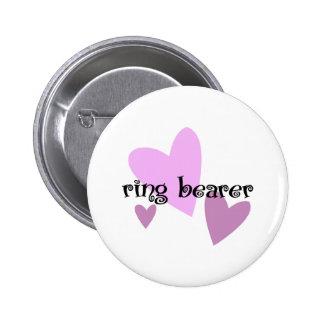 Ring Bearer Pinback Button