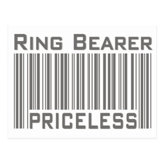 Ring Bearer Priceless Postcard