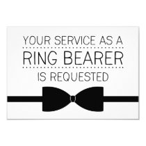 Ring Bearer Request | Groomsmen Invitation