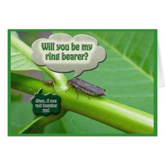 Ring Bearer Request Sharpshooter Leaf Hopper Card