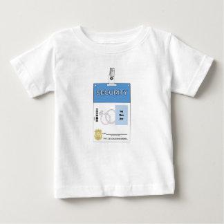 Ring Bearer Security Badge Baby T-Shirt