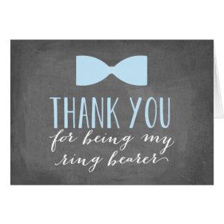 Ring Bearer Thank You | Groomsman Card