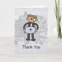 Ring Bearer Thank you  Wedding Attendant