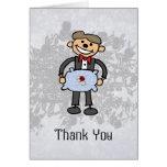 Ring Bearer Thank you  Wedding Attendant Card