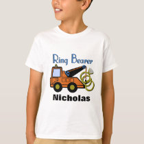 Ring Bearer Tow Truck T-Shirt