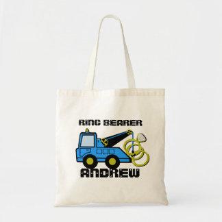 Ring Bearer Tow Truck Tote Bag