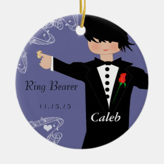 Ring Bearer Wedding Christmas Ornament