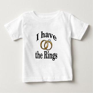 Ring Bearer Wedding Infant Shirt