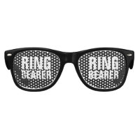 RING BEARER wedding party shades gift for kids