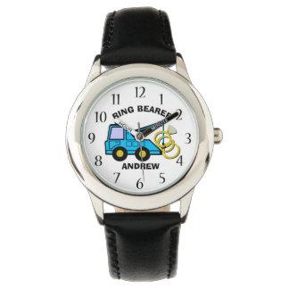 Ring Bearer Wedding Tow Truck Watch