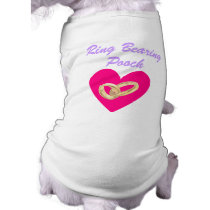 Ring Bearing Pooch Wedding Dog T-shirt