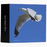 Ring-Billed Gull in Flight Binder