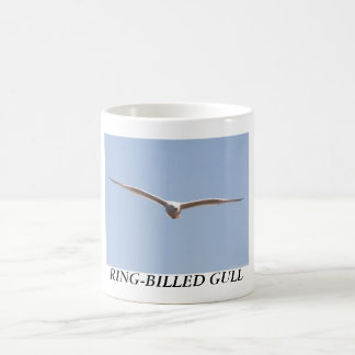 RING-BILLED GULL CLASSIC WHITE COFFEE MUG