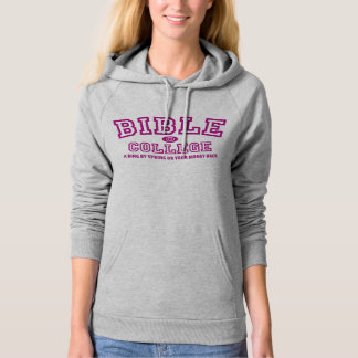 """""""Ring by Spring"""" Bible College Guarantee Hoodie"""