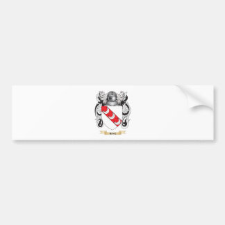 Ring Coat of Arms (Family Crest) Car Bumper Sticker