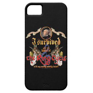 Ring Cycle Survivor iPhone 5 Cases