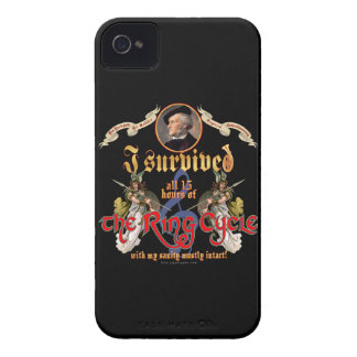 Ring Cycle Survivor iPhone 4 Case-Mate Case