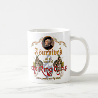 Ring Cycle Survivor Coffee Mug