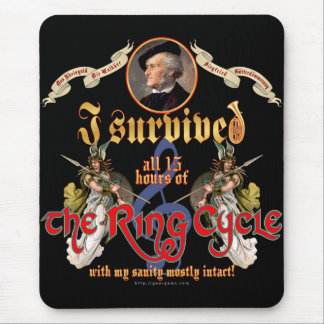 Ring Cycle Survivor Mouse Pad
