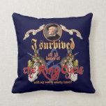 Ring Cycle Survivor Pillow