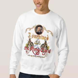 Ring Cycle Survivor Pull Over Sweatshirt