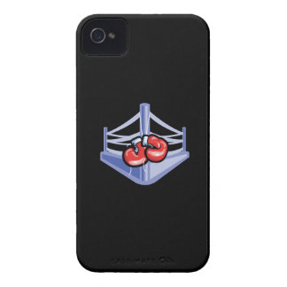 Ring de boxeo Case-Mate iPhone 4 coberturas