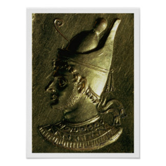 Ring depicting Ptolemy VI Pilometor (c.186-c.145 B Posters