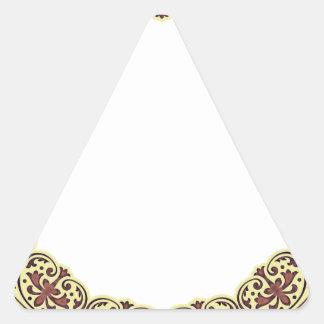 Ring Design Triangle Sticker