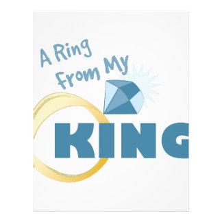 Ring From King Letterhead