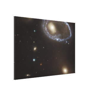 Ring Galaxy AM 0644-741 Canvas Print