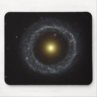 Ring Galaxy - torch light Mouse Pad