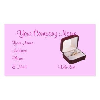 Ring in Box customizable business card
