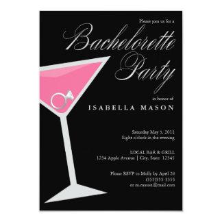 Ring In Cosmo | Bachelorette Party Invite