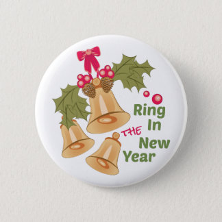 Ring In New Year Button