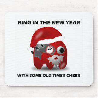 Ring In The New Year With Some Old Timer Cheer Mousepad