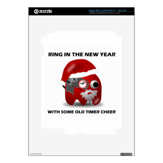 Ring In The New Year With Some Old Timer Cheer Skins For iPad 3