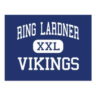 Ring Lardner - Vikingos - joven - Niles Michigan Tarjeta Postal
