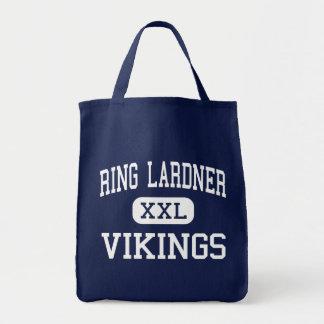Ring Lardner - Vikings - Junior - Niles Michigan Canvas Bags