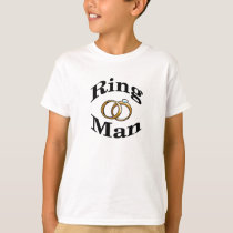 Ring Man Wedding Kids Shirt