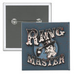 Ring Master Pinback Buttons
