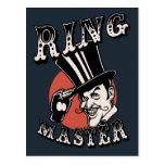 Ring Master Postcard