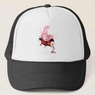 Ring my Bell -funny cat cartoon, tony fernandes Trucker Hat