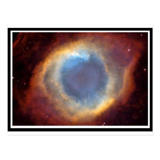Ring Nebulae Postcard