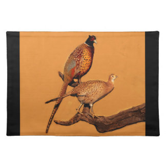 Ring-neck Pheasant Cloth Placemat