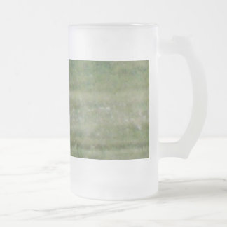 Ring Neck Pheasant Frosted Glass Beer Mug