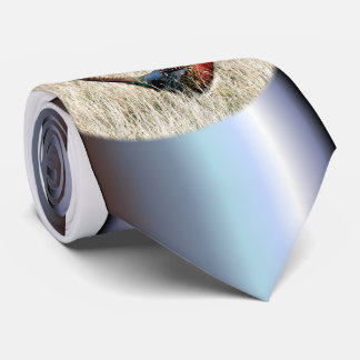 Ring Neck Pheasant in Meadow Neck Tie