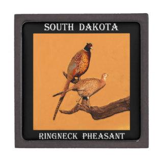 Ring-neck Pheasant Premium Trinket Boxes