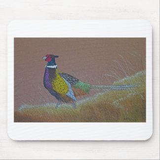 Ring Neck Pheasant Wild Bird Mouse Pad